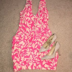 Dresses & Skirts - ASOS hot pink dress
